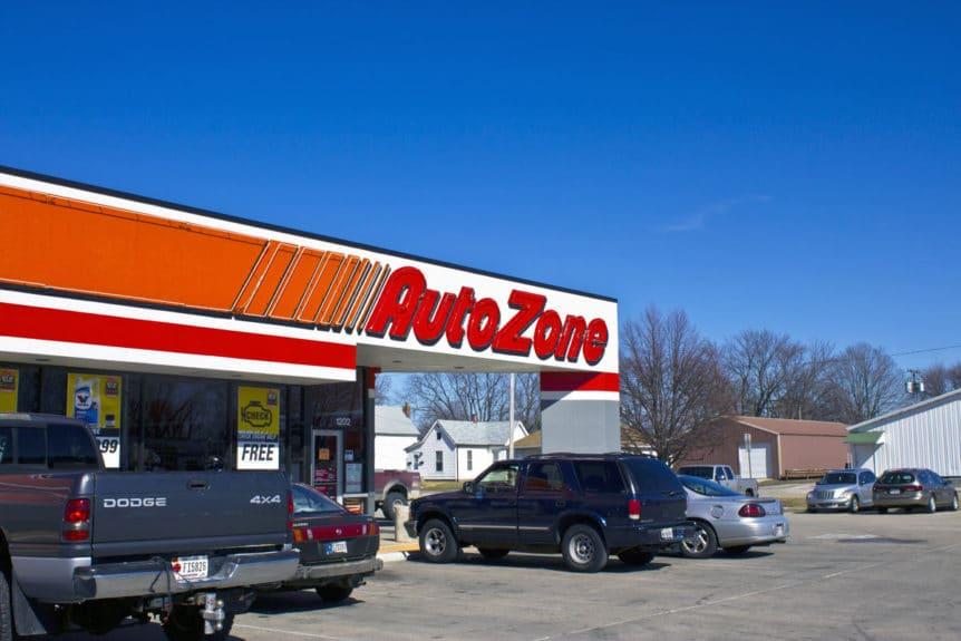 Autozone store exterior